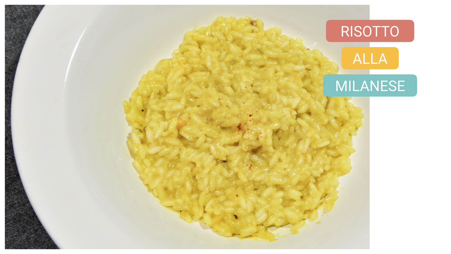 Typical food in Milan - milano bike tour - risotto