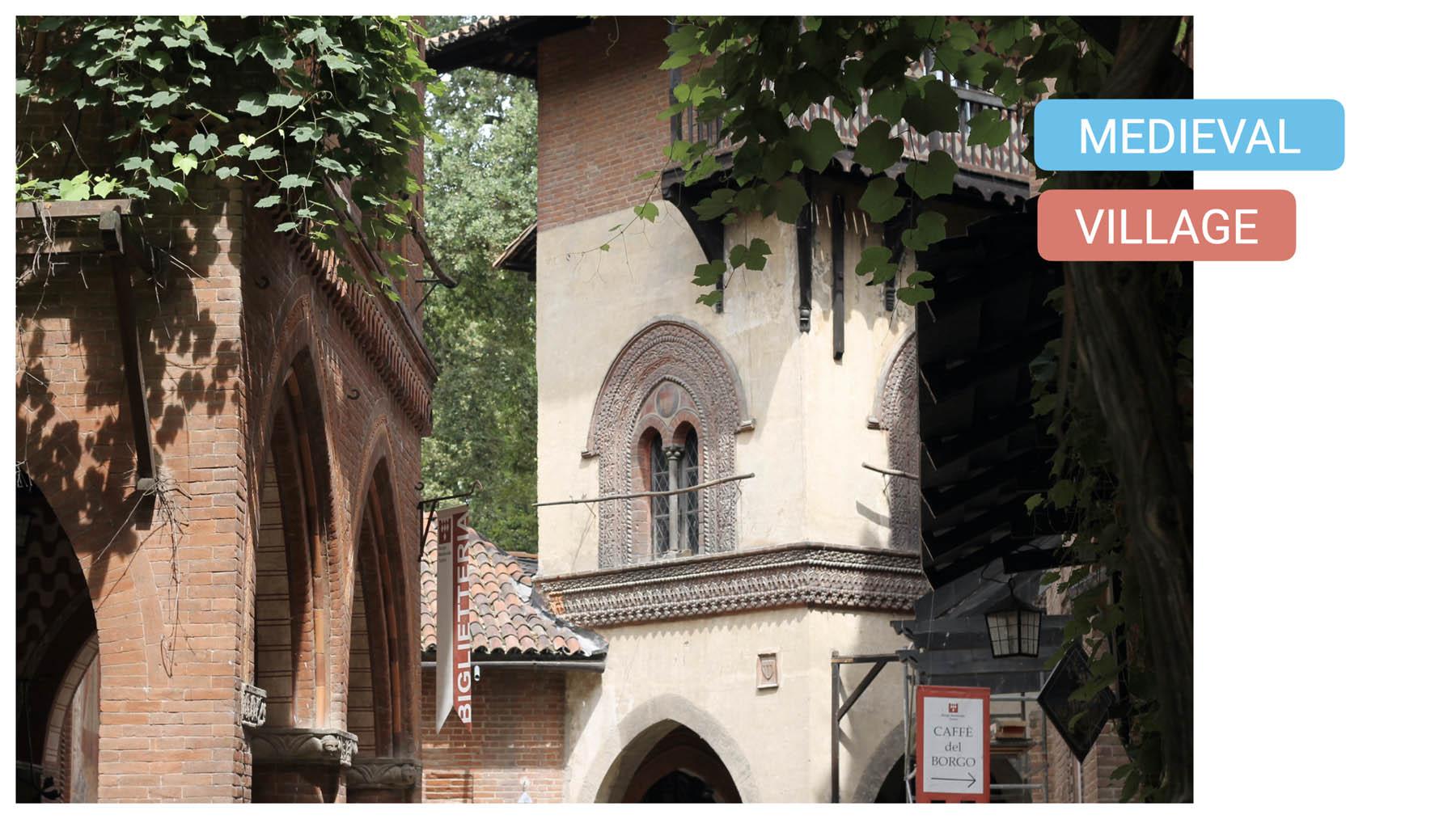 visit turin parco valentino bike tour torino medieval village