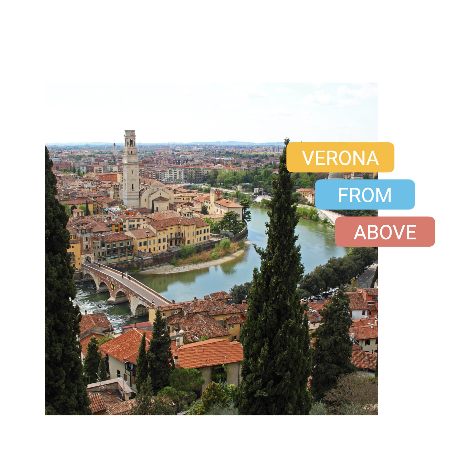 best view of verona - bike tour verona from above