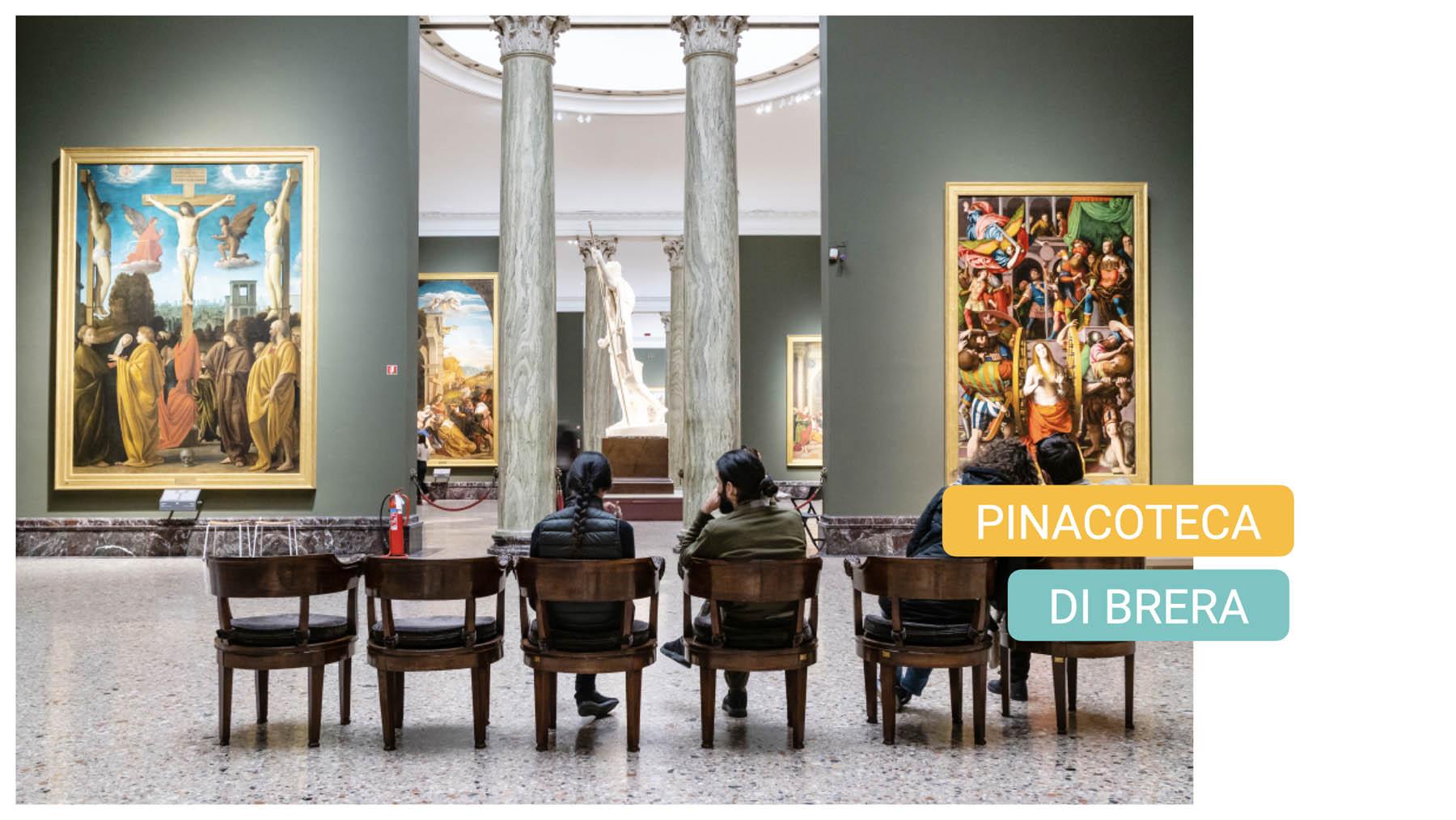 pinacoteca di brera milano bike tour milan art