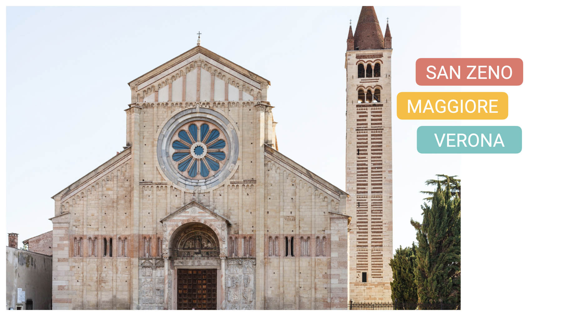 Basilica of St. Zeno bike tour verona